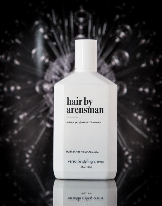 hair salon versatile styling cream hair management