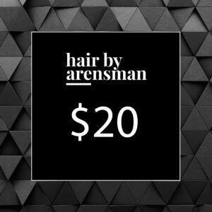 $20 Gift Certificate hair salon near me plano