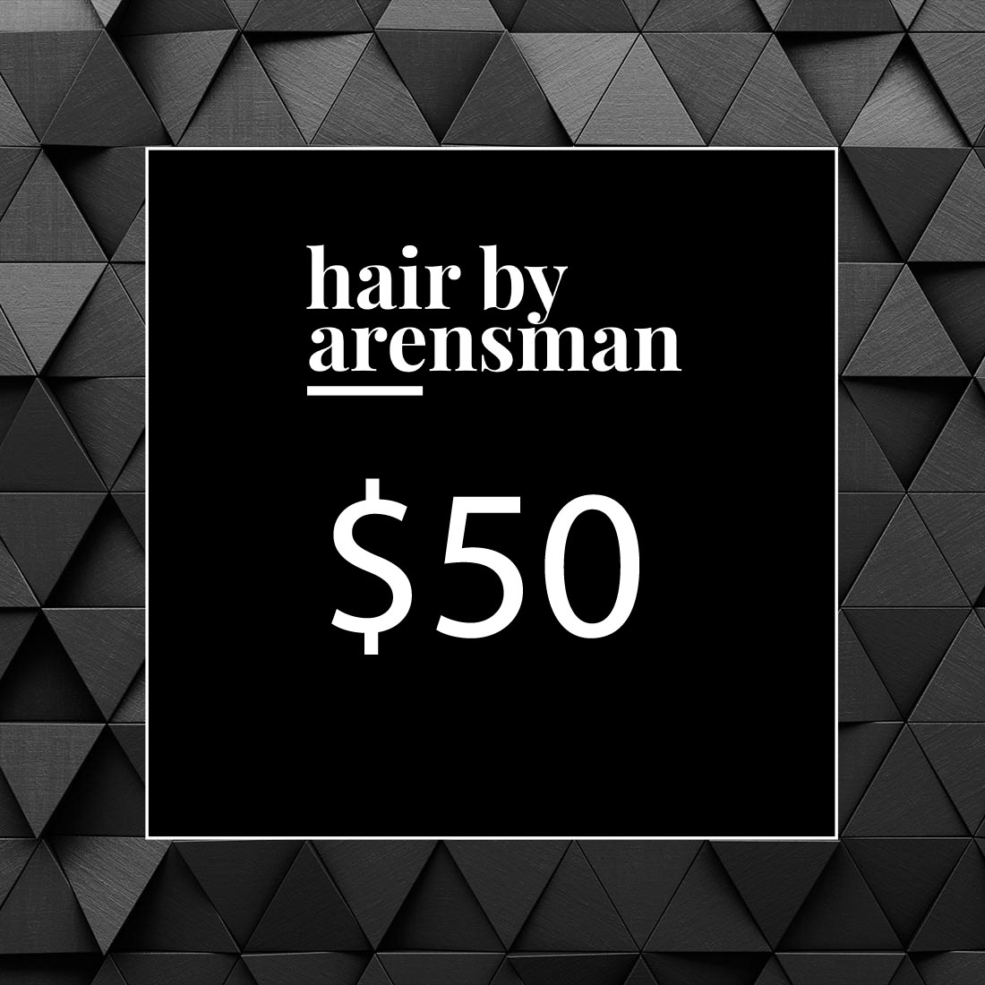 $50 Gift Certificate hair salon plano