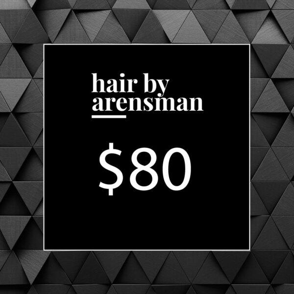 $80 Gift Certificate hair salon near me plano