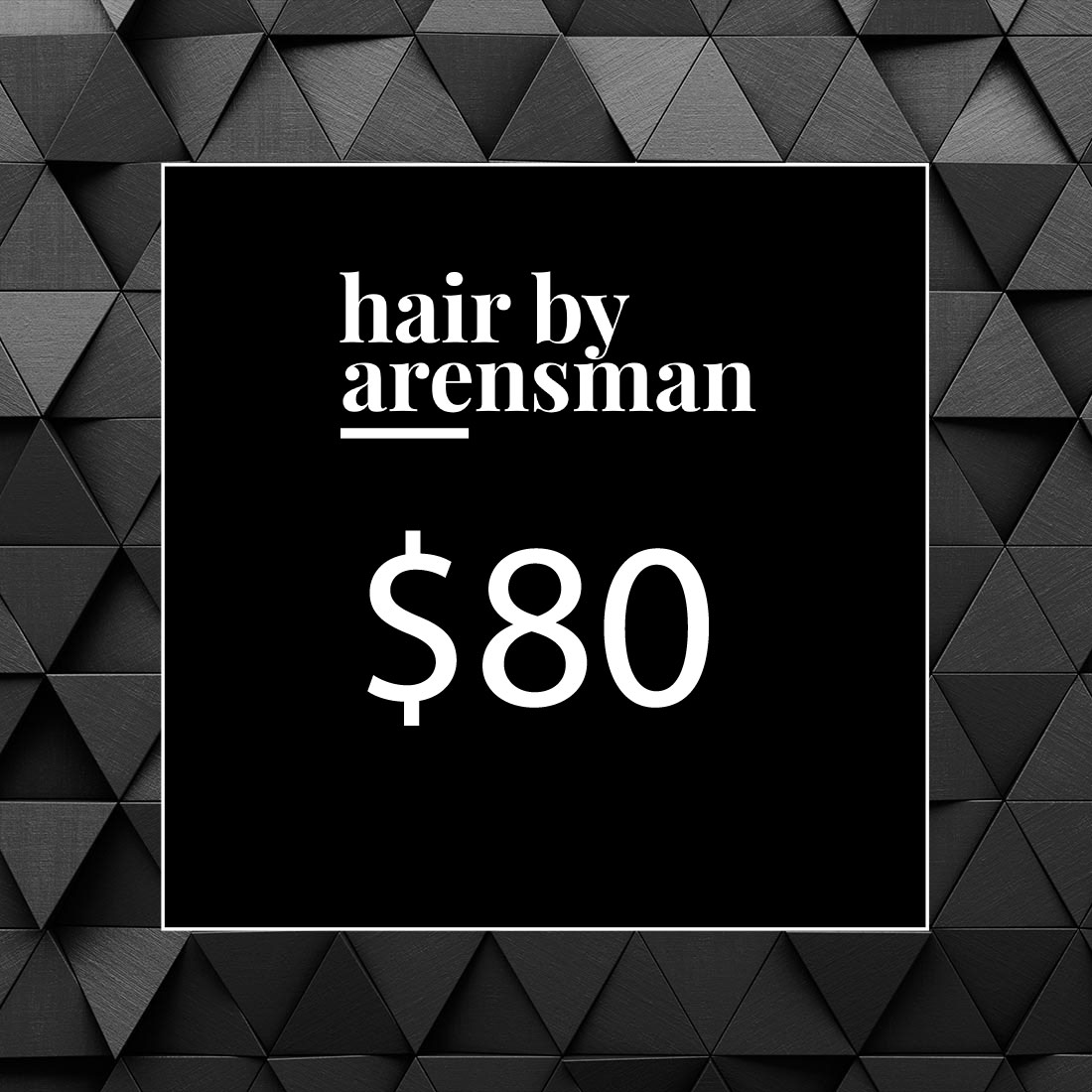 $80 Gift Certificate hair salon plano