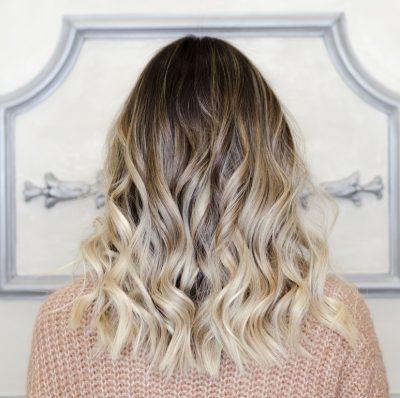 coconut blonde hair