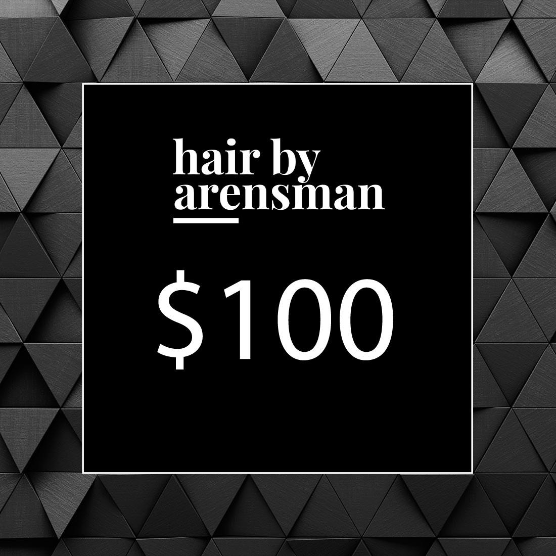 $100 Gift Certificate hair salon plano