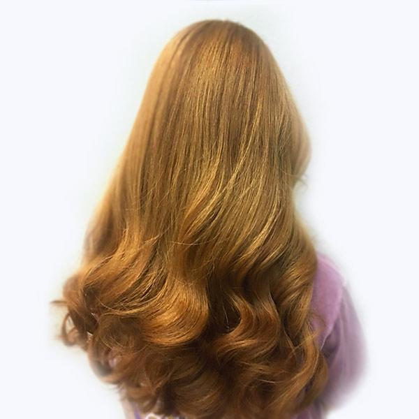 girls hair coloring salon plano