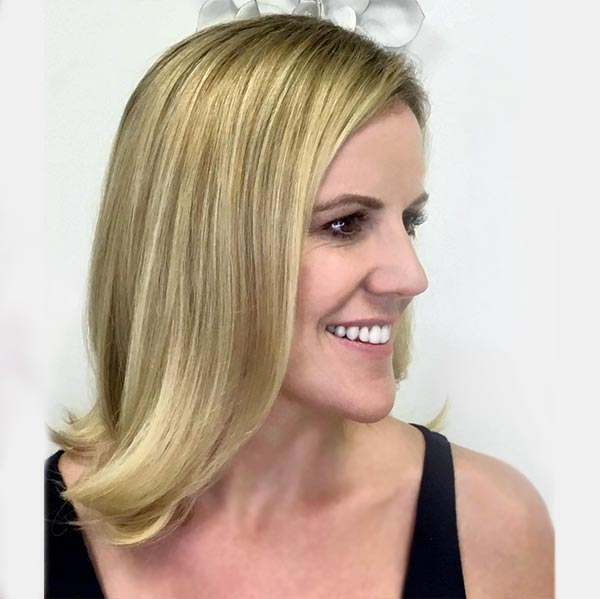 womans blonde specialist in plano