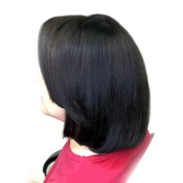 womens short haircut style best salon plano