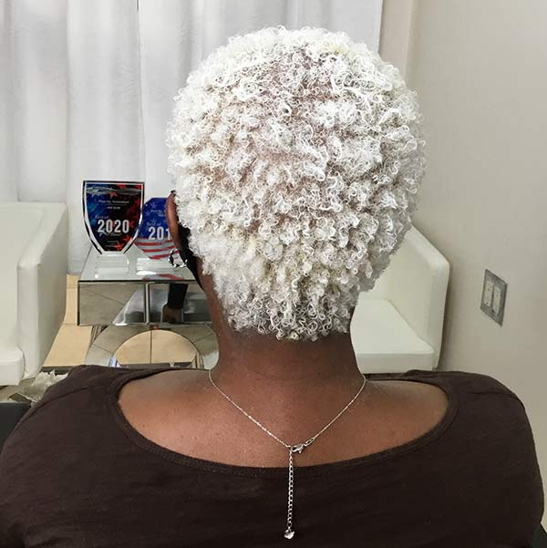 you can bleach ethnic hair blonde specialist salon plano
