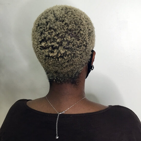you can bleach ethnic hair to blonde