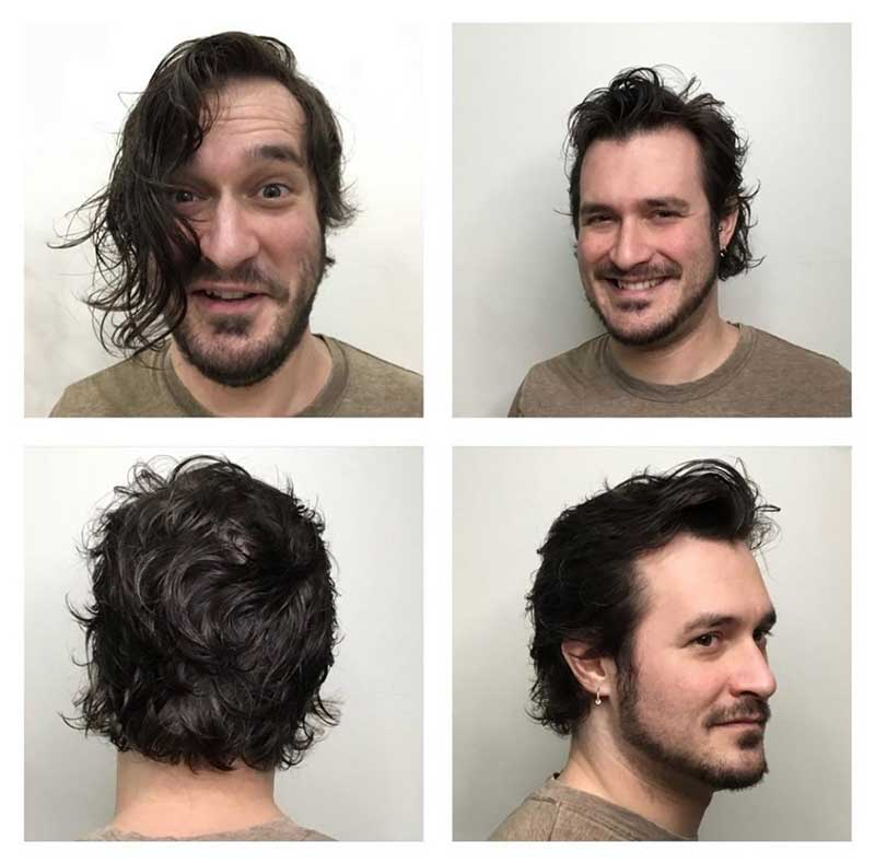 """Men's Haircut """"After"""""""