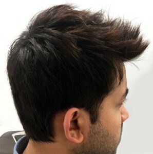 mens haircut and style at the salon in plano texas