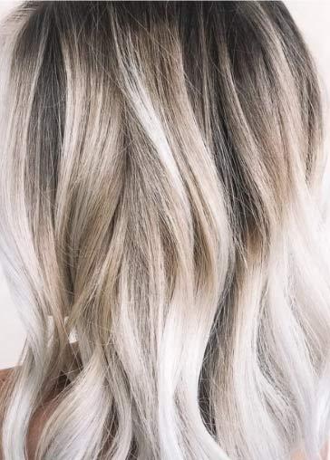 greige blonde hair coloring