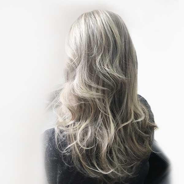 womans highlights de-frizz hair salon plano texas