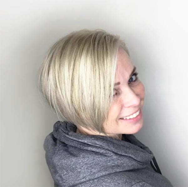 womans short hairstyle best salon plano texas